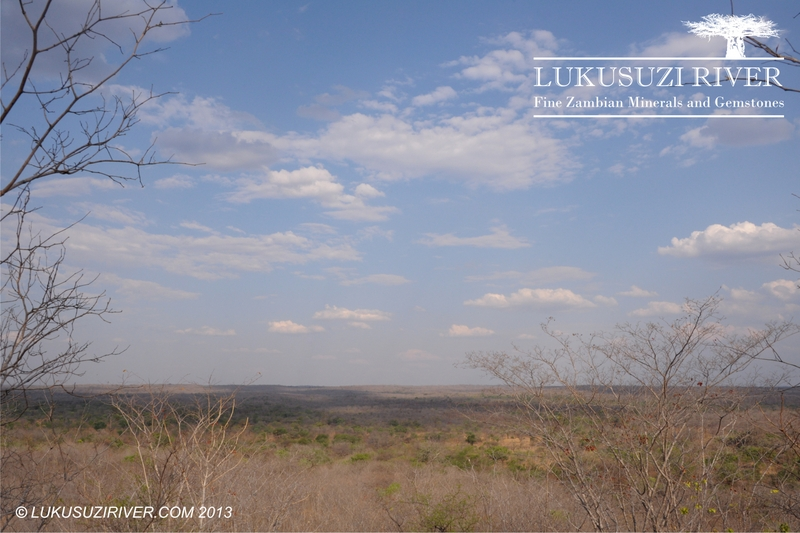 Chilume: View towards the East; the border of the Lukusuzi National Park is only a few km away.