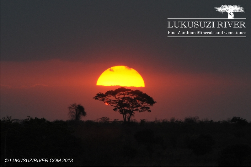 Magodi: A typical African sunset.